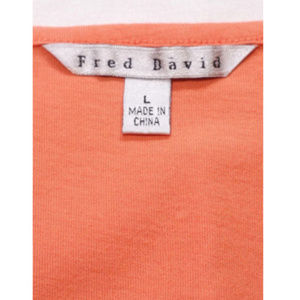 Fred David Tops - FRED DAVID Women Top Embroidered Front 1346E1